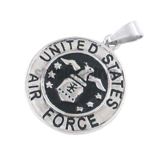Free shipping! Unite States Air Force Pendant Motorcycles Biker Pendant Stainless Steel Jewelry Motor Biker Pendant SWP0070A